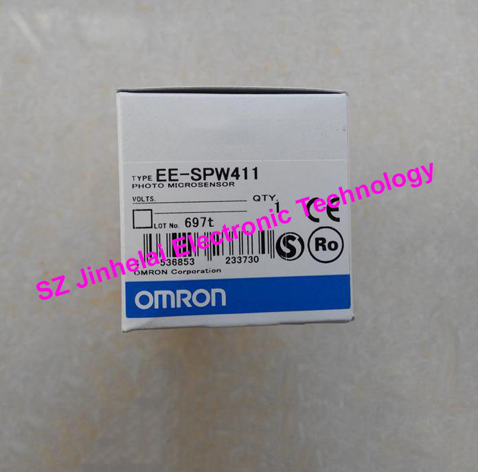 Authentic original OMRON PHOTOELECTRIC SWITCH EE-SPW411 PHOTO MICROSENSOR ee spw311 ee spwl311 ee spwd311 photoelectric switch