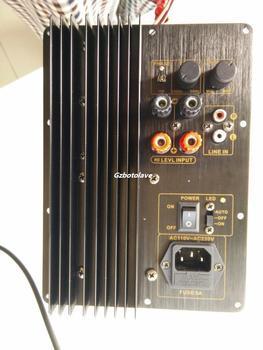 100W TDA7293 power amplifier active subwoofer amplifier board, pure bass amplifier low pass filter subwoofer 110V 220V