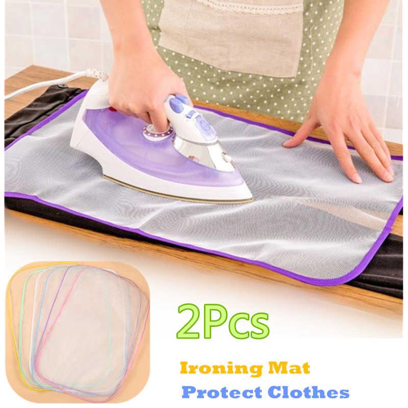 Удобный гладильный коврик Бытовая доска Подставка под железные сетки Защитная Одежда Защитная пресс-сетка защита аксессуары для дома