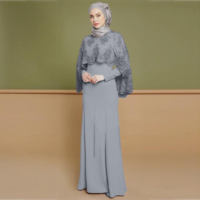 2019 fashion Turkish Dress with Long Sleeve