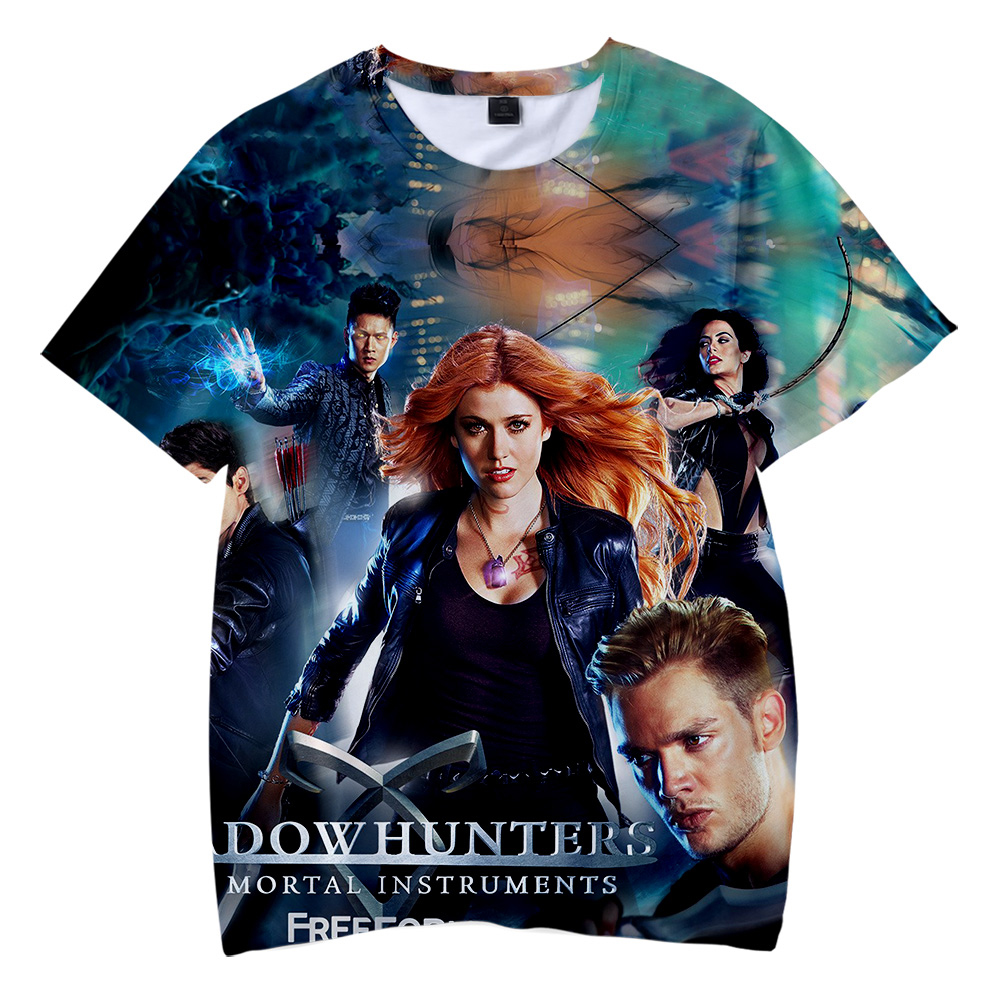 BTS 2019 New product drop shopping shadowhunters 3D t-shirts Boy/girl Children's wear summer Casual Short Sleeve Clothes
