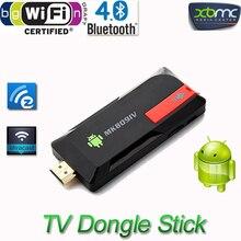 High quality Android 4.4 TV Stick Dongle Quad Core RK3188T 2G/8GB XBMC Bluetooth DLNA Wifi Mini PC MK809IV TV Box Player