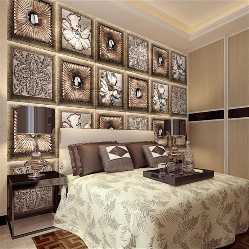 3d Photo Wallpaper for Wall Picture Embossed Wallpaper Modern Custom European Luxury Bedroom Living Room Wall Decor Vintage tuya art tuya cutom 3d wallpaper on the wall wholesale photo picture wall mural for the living room bedroom children s room