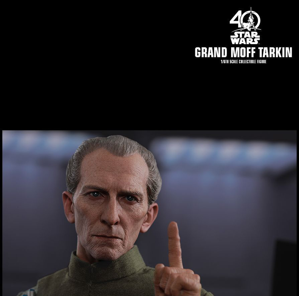 Full set Colletible 1/6 Scale Star Wars: Episode IV - A New Hope Grand Moff Tarkin Peter Cushing Figure Model Toys 2