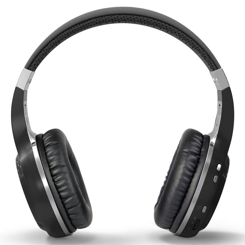 Bluedio HT Trådlös Bluetooth Hörlurar V5.0 Stereo Mikrofon Handsfree för samtal Musik Headset Hörlurar