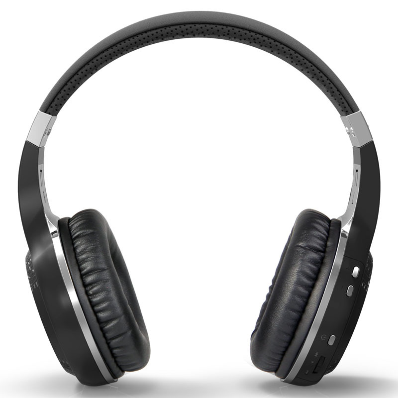 Bluedio HT Wireless Bluetooth Headphone V5.0 Stereo Mic Handsfree untuk Panggilan Fon telinga Muzik Headset