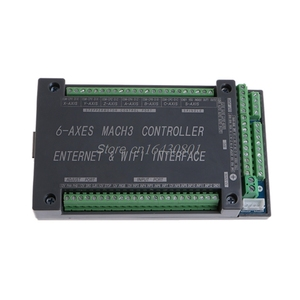 Image 2 - For MACH3 Ethernet Interface NVUM 6Axis CNC Controller 200KHz Board Card For Stepper Motor G08 Whosale&DropShip
