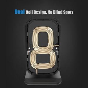 Image 3 - Qi Индукционное Беспроводное зарядное устройство 10 Вт для iPhone XS Max XR X 8 Samsung S8 S9 Plus