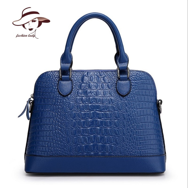 Luxury European and American Style Women Bag Alligator Ladies Messenger PU leather Handbags Famous Brands Design Solid Color 2017the mostfashion trends european and american brands genuine flowers ladies luxury short shoes club sexy women s shoes