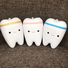Cute Cartoon Teeth Squishy Toys