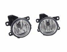 2 Pz/paia lente Chiara paraurti Anteriore fendinebbia servosterzo con lampadine RH e LH Per Ford Edge 2015-2017