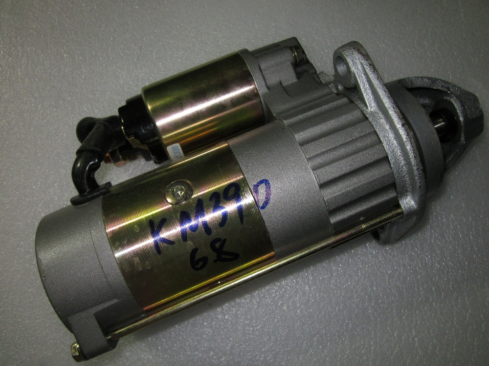 купить Laidong KAMA KM390BT parts, the starter motor 12V 3.0kw по цене 5779.79 рублей