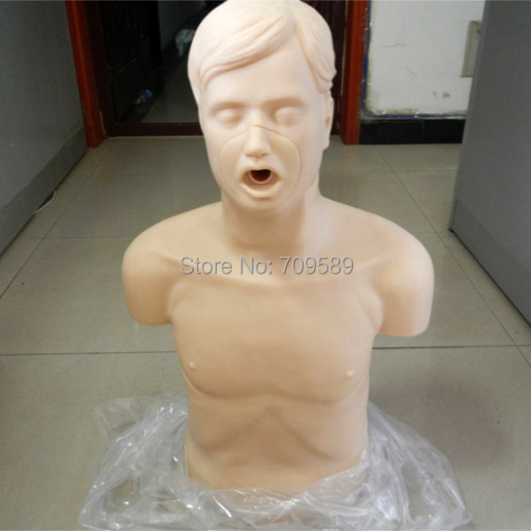 ISO Half Body CPR manikin,First Aid training dummy bix cpr100a electronic half body cpr and first aid training dummy w056