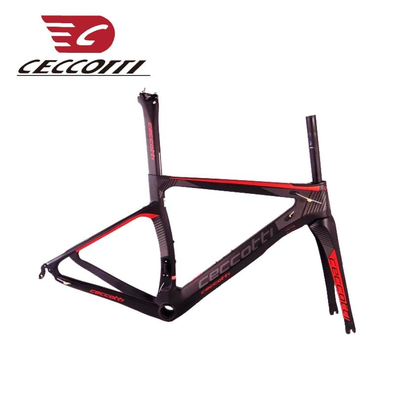 Карбоновый дорожный каркас T1000 велосипедов кадр UD/труба из углеродистого волокна 3 K 1 k Ceccotti китайский дешевый гоночный велосипед набор