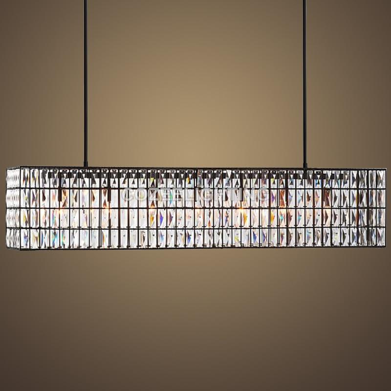 Priljubljen linijski vintage kristalni lestenec Notranja razsvetljava - Notranja razsvetljava - Fotografija 1