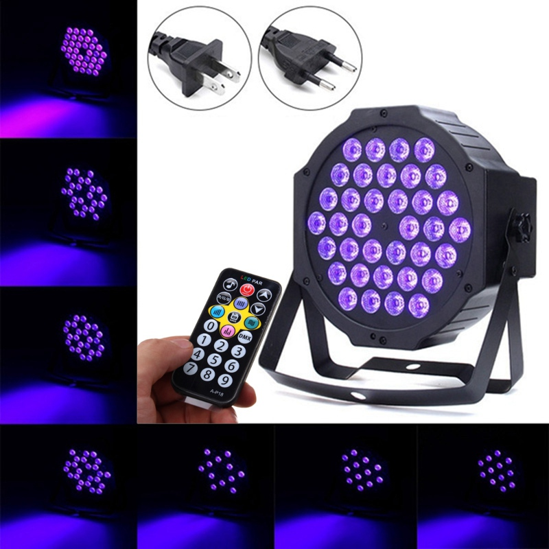 36W LED Stage Light DMX LED Stage Lighting Effect Auto/Sound Active Par LED Lamp For Party Disco Club Bar KTV DJ Show Lights 2xlot sales 2016 led par light 7x15w rgbwa 5in1 100w dj disco dmx stage lights par can led effect club party lighting free ship