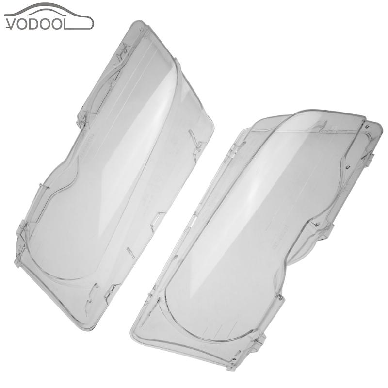 Car Headlight Lens Headlamp Glass Cover Transparent Clear 2 Door Head Light Lamp Shell Case for BMW E46 98-01 Auto Accessories игрушка bradex ваббл баббл бол de 0116