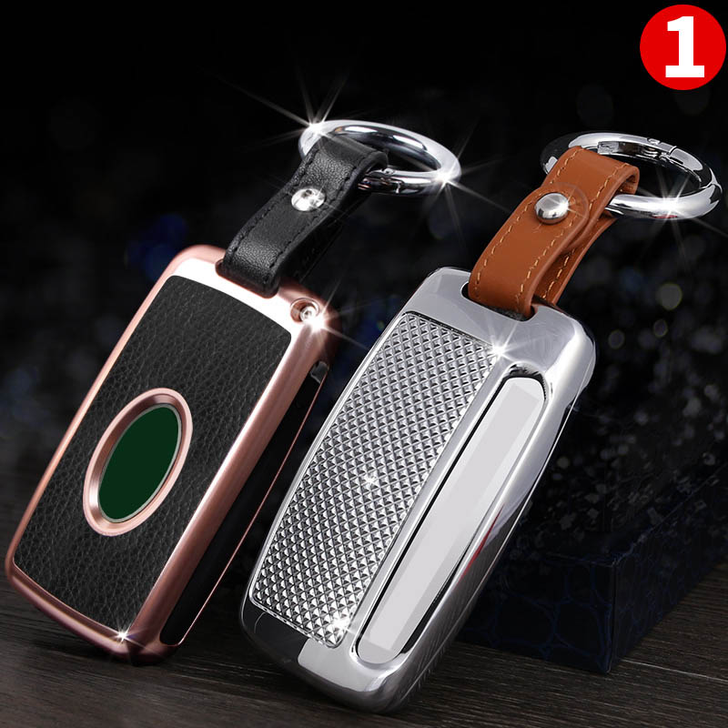 lsrtw2017 aluminum alloy car key protective case for land rover range rover sport evoque discovery sport L494 L405 discovery 5