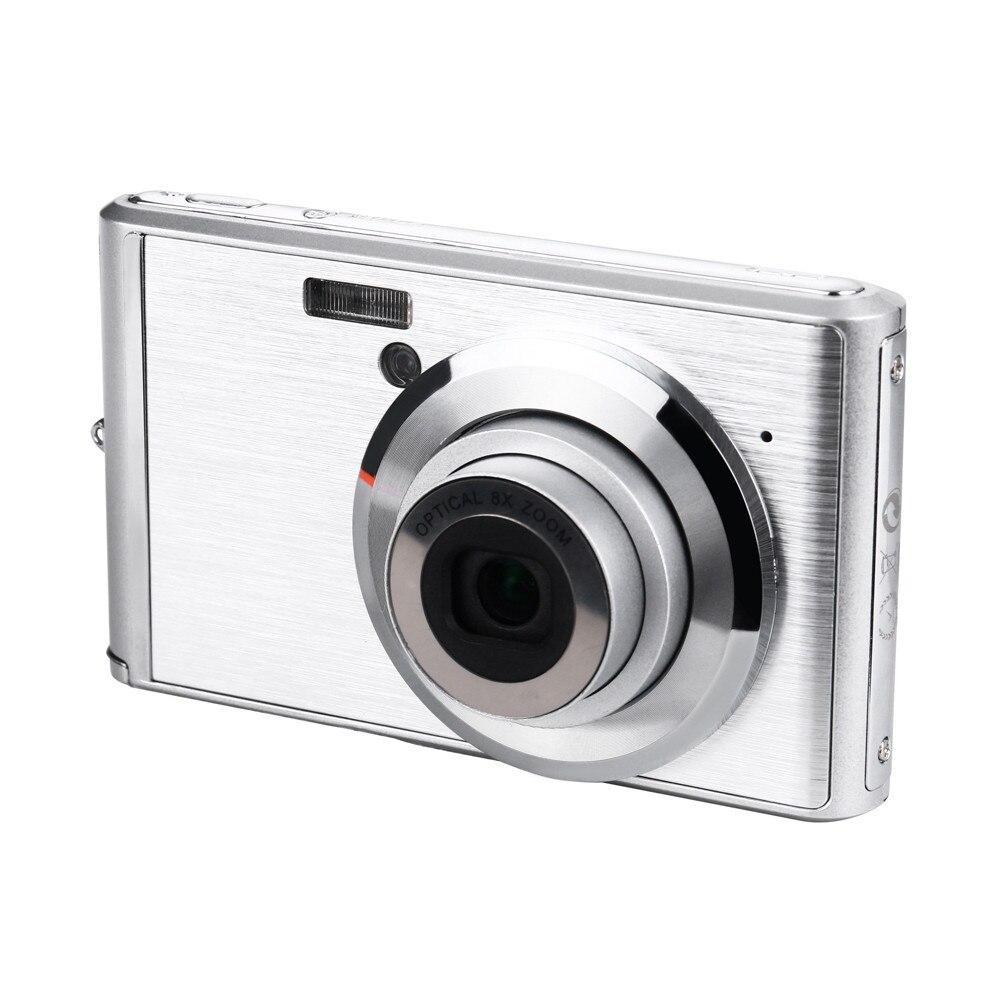 2,4 pulgadas de pantalla LCD 20MP 8X Zoom óptico Digital lente telescópica Cámara 20A envío de la gota