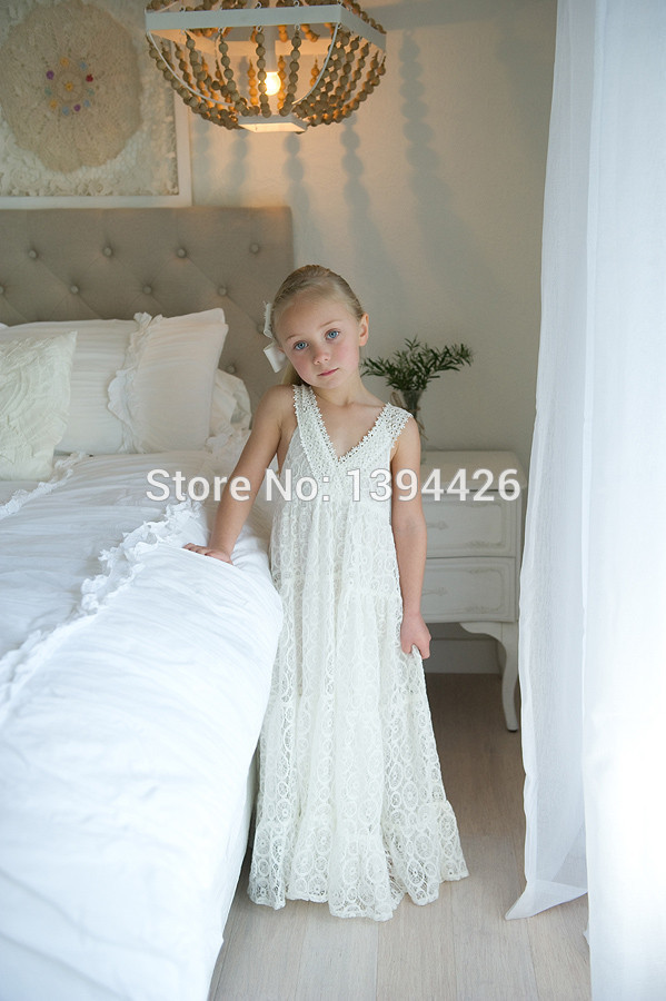 Flower Girl Dresses Beach Promotion-Shop for Promotional Flower ...
