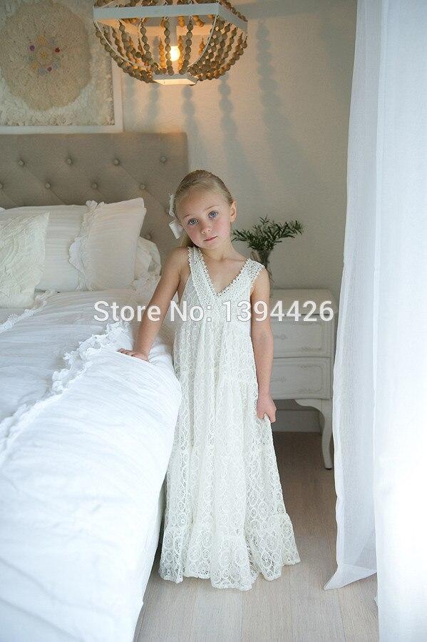Beach Wedding Flower Girl Dress – fashion dresses