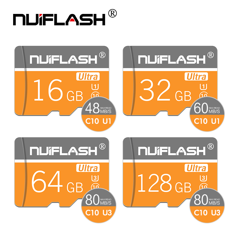 Microsd Memory-Card Flash Tf-Carte SDHC/SDXC Class-1 32GB 16GB 8GB 256GB 64GB Newest title=