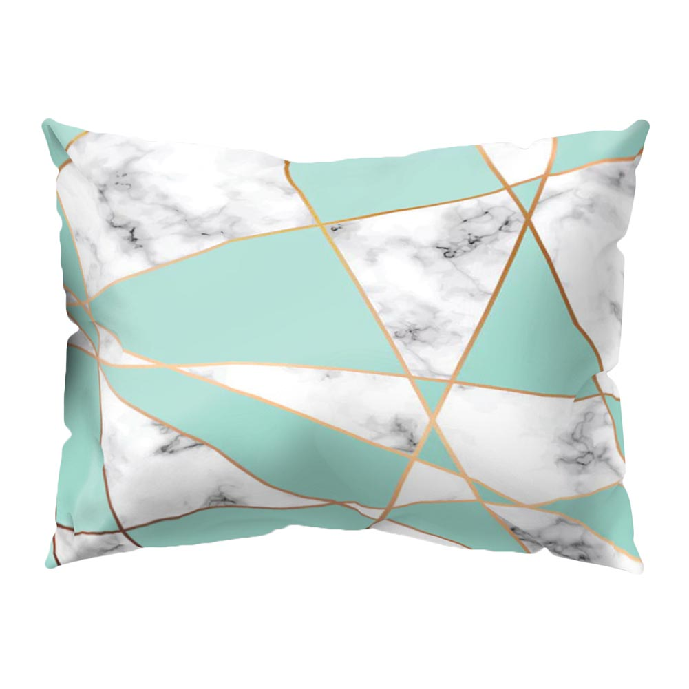50*30cm Pillowcase Marbling Print Cushion Cover Home Decoration Throw <font><b>Pillow</b></font> <font><b>Case</b></font> for Couch Sofa Bed 669 image