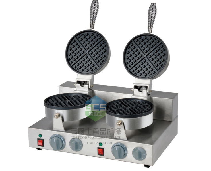 Free Shipping cost 110V/ 220V Double  Head Waffle Baker p80 panasonic super high cost complete air cutter torches torch head body straigh machine arc starting 12foot