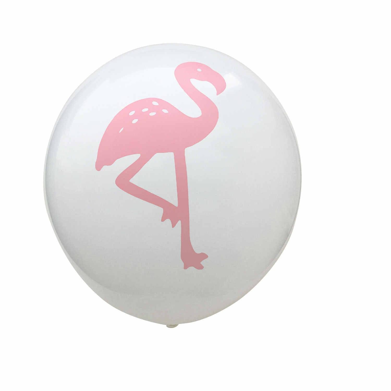 10 PCS 12 Inch Latex Ballonnen Verjaardagsfeestje Decoraties Roze Flamingo Blad Ananas Gedrukt Ballonnen Bruiloft Benodigdheden Lucht Ballon