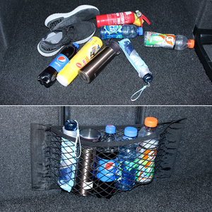 Автомобильная сумка для хранения сетчатая Сетчатая Сумка карман для passat cupra saab 9-3 fabia skoda fabia 2 bmw f20 mazda 5 fiat grande punto
