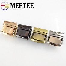цены 2/5/10pcs Meetee Metal Bag Snap Lock Handbag Clasps Closure Buckle DIY Purse Clasps Locks Bags Accessories Replacement Buckle