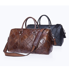Gedser Genuine Leather Duffel Bag