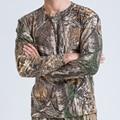 Geely камуфляж clothing длинными рукавами Футболки военные фанаты одежда hunter камуфляж Футболки бионический камуфляж рубашка