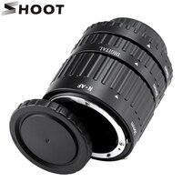 12mm, 20mm, 36mm Auto Focus Tube Extension Macro Set pour Nikon d3200 REFLEX AF AF-S D G et VR lentille Caméra pour Nikon Accessoires