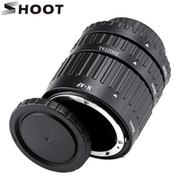 12mm 20mm 36mm Auto Focus Macro Extension Tube Set For Nikon D3200 SLR AF AF S
