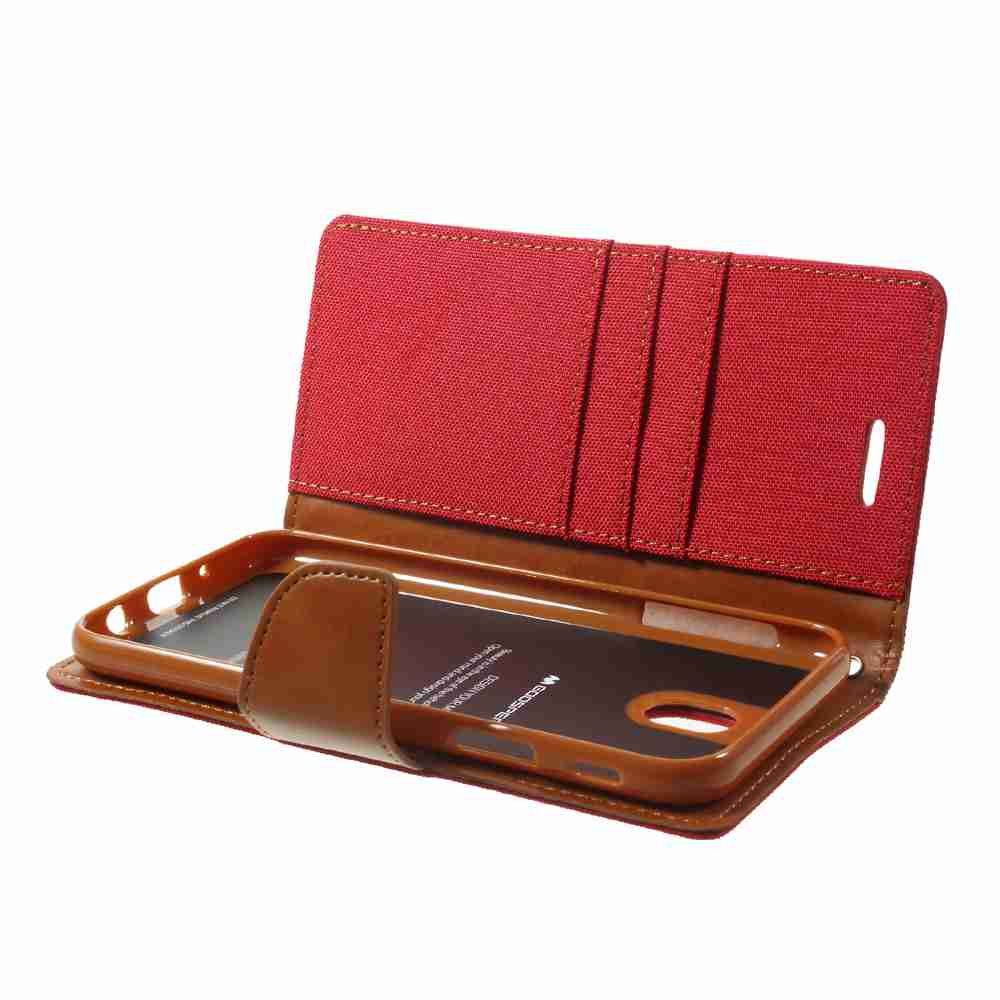 Harga Goospery Samsung Galaxy J7 Canvas Diary Case Red Terbaru 2018 Core 2 Navy Mercury For Pro Cover Coque Wallet Leather Phone