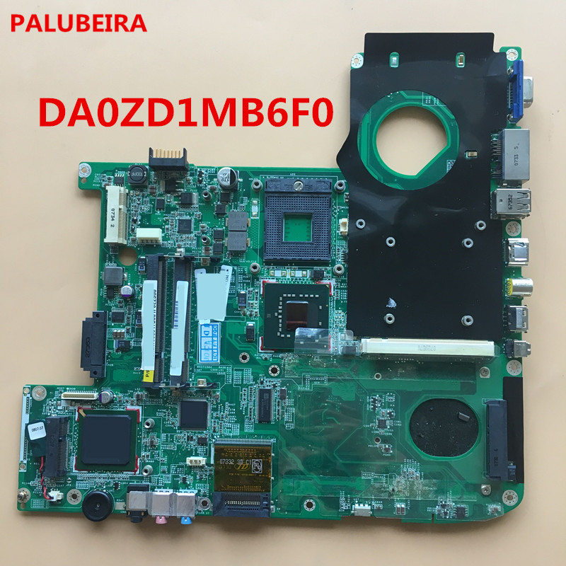 Palubeira Mbagw06001 For Acer Aspire 5920 5920g Laptop Motherboard Da0zd1mb6f0 Mainboard 100