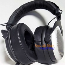 Genuine Lambskin Leather Ear Pad For Beyerdynamic DT770 DT660 DT440  MMX 300,CUSTOM ONE PRO PLUS Headphone Foam Cushion EarMuff