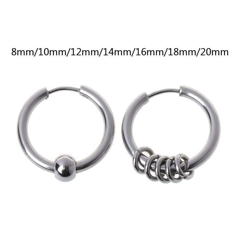 2876d549afe228 YOU MAY ALSO LIKE. 1Pair 8mm-20mm Titanium Steel BTS Hoop Earring Cartilage  Helix Piercing Earrings