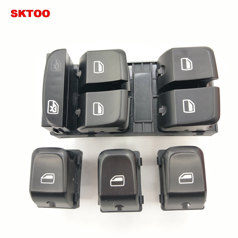 Interior Parts Dwcx Front Left Car Central Door Lock Switch Button Fit For Audi A4 S4 B8 Allroad A5 Rs4 8kd962107
