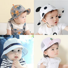 4a2ed73e Baby Hat Spring Summer Baby Fisherman's Hat Children's Basin Sun Hat Boys  Girls Beach Hat Caps
