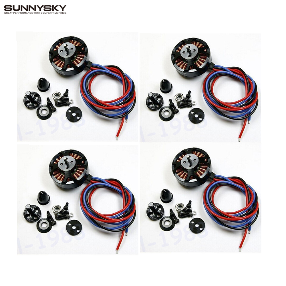 4set/lot Sunnysky X4110S 580KV 680KV 460KV 400KV 340KV Brushless Disc Motor for  Multirotor Multicopter new lang yu x4110s 340 400kv 460 680kv 580kv high efficiency multi axis disc motor