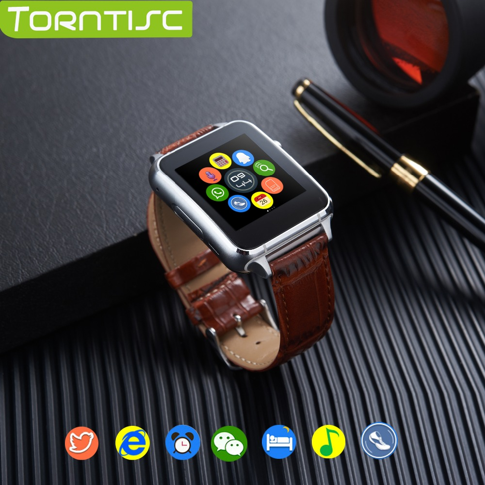 imágenes para Torntisc Bluetooth Monitor de Ritmo Cardíaco Reloj Inteligente X7 con el Control Por Gestos anti-perdida 30 W Cámara Tarjeta Sim Reloj de Pulsera Smartwatch