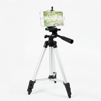 WAGOLO Light Weight Universal Portable Tripod Phone Holder For Iphone Smartphone Canon Nikon Compact Camera