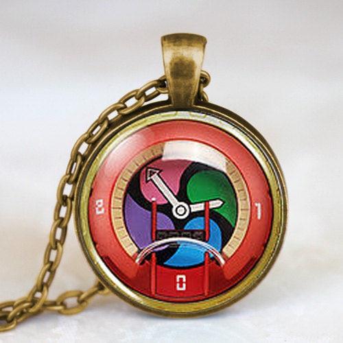 JP Yokai Yo-Kai Youkai Դիտեք Անիմե Cosplay Medal - Նորաձև զարդեր