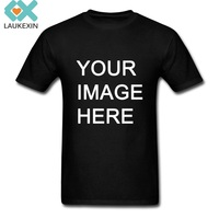 CUSTOM PERSONALISED DESIGN YOUR OWN T SHIRTS MEN SHORT SLEEVE O NECK PRINTED T SHIRTS MANY