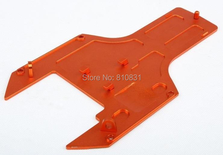Baja upgrade parts,CNC metal chassis plate for 1/5 hpi rovan km baja engines parts