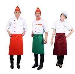 Пользовательские Талии Фартук для официанта с собственным логотипом печати Ресторан выбор