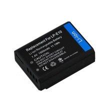 Recarregável para Câmera Digitalboy 1 PCS Lp-e10 LP E10 Lpe10 Bateria Li-ion para Canon 1100d Beijo X50 Rebel T30 Z1 Alta Qualidade