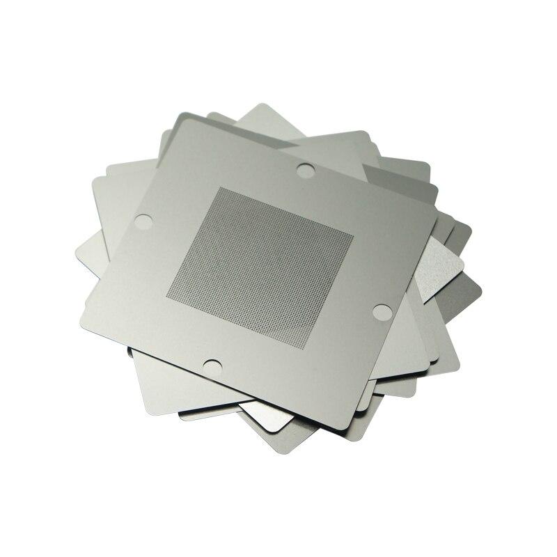 Tools : Silver BGA Reballing Kit 90 90mm 90x90mm   Station HT-90 with 10 PCS  Universal Stencils